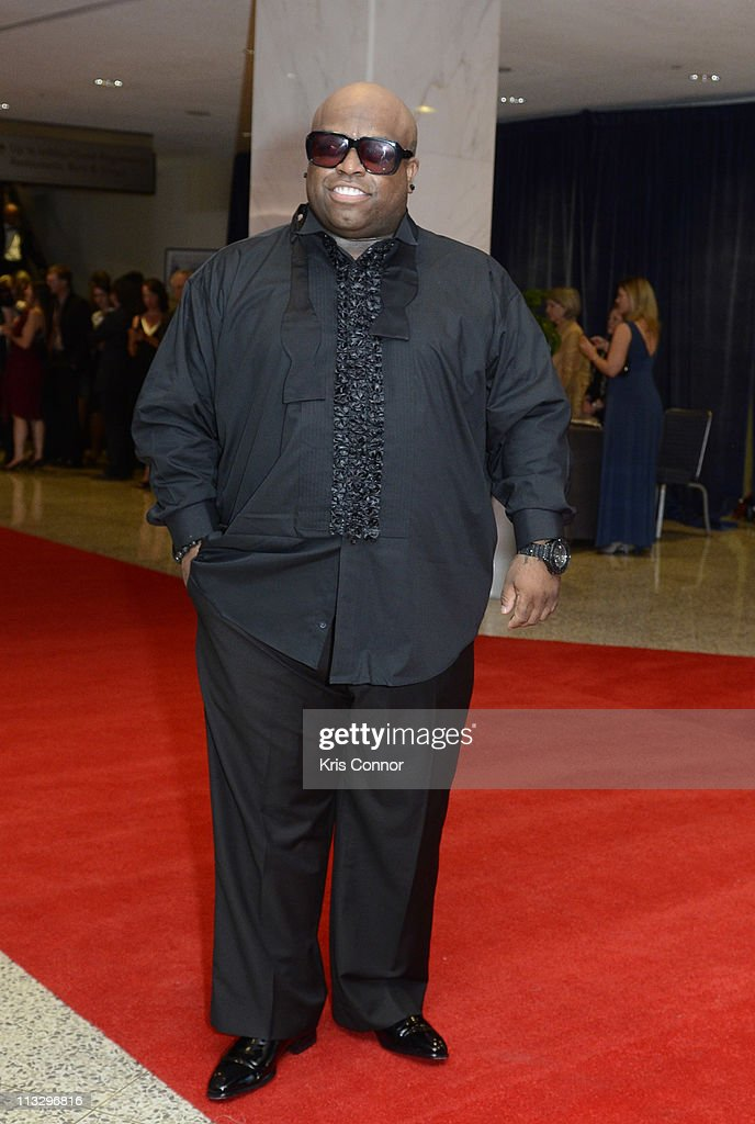 Cee Lo Green attends the 2011 White House Correspondents' Association Dinner at the Washington Hilton on April 30, 2011 in Washington, DC.