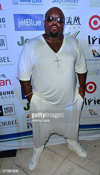 Cee Lo Green attends the VIP KickOff Concert during the 11th Annual Irie Weekend at Kimpton Surfcomber Hotel on June 18 2015 in Miami Beach Florida