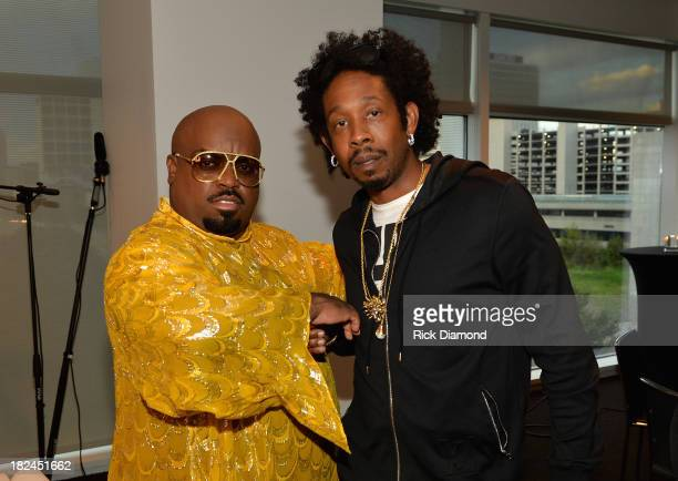 CeeLo Green and Big Gipp attend 'The Legacy Lounge' A conversation with CeeLo Green and his inspiration at W Atlanta Downtown on September 29 2013 in...