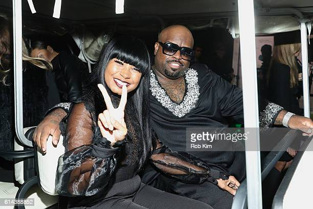 CeeLo Green and Shani James attend the 2016 Friends of Hudson River Park Gala at Hudson River Park's Pier 62 on October 13 2016 in New York City