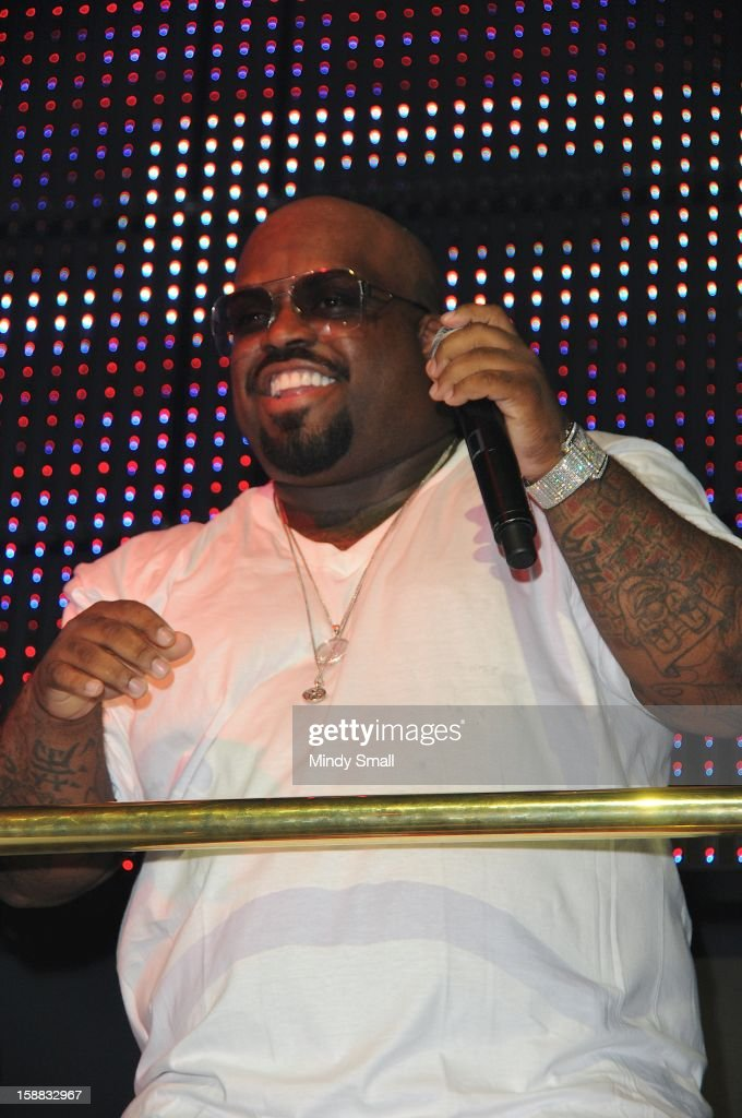 CeeLo Green appears at Chateau Nightclub on December 30, 2012 in Las Vegas, Nevada.