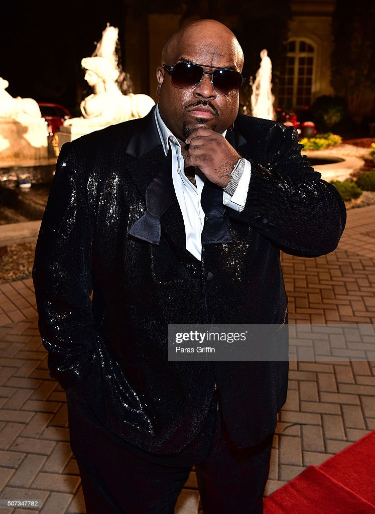 CeeLo Green attends Rick Ross' 40th Birthday Celebration on January 28, 2016 in Fayetteville, Georgia.
