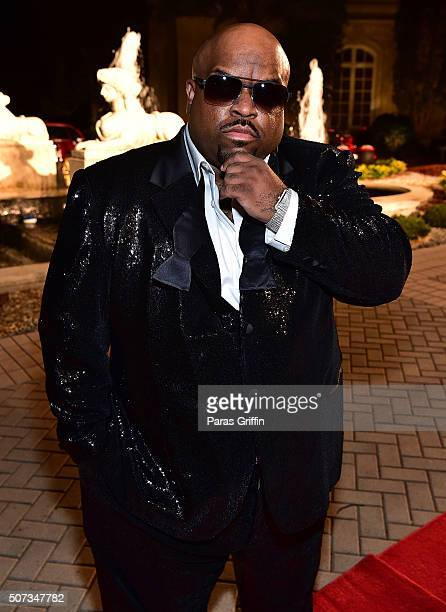 CeeLo Green attends Rick Ross' 40th Birthday Celebration on January 28 2016 in Fayetteville Georgia
