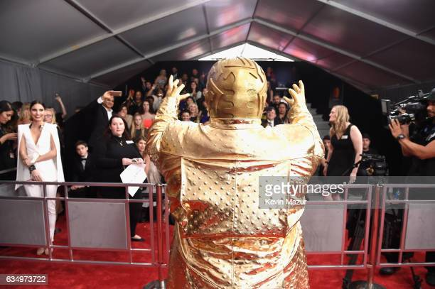 CeeLo Green attends The 59th GRAMMY Awards at STAPLES Center on February 12 2017 in Los Angeles California