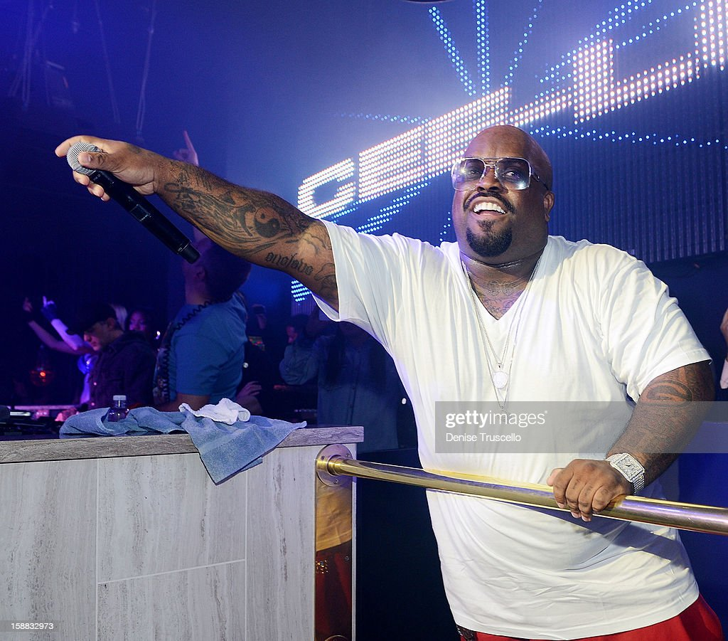 CeeLo Green performs at Chateau Nightclub in Las Vegas for New Year's Weekend on December 30, 2012 in Las Vegas, Nevada.