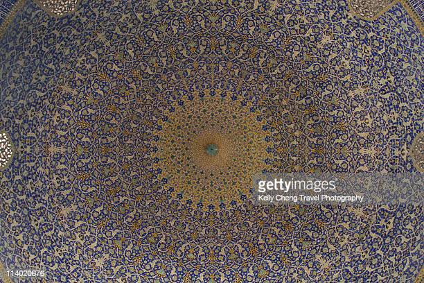 Ceiling dome of Shah Mosque