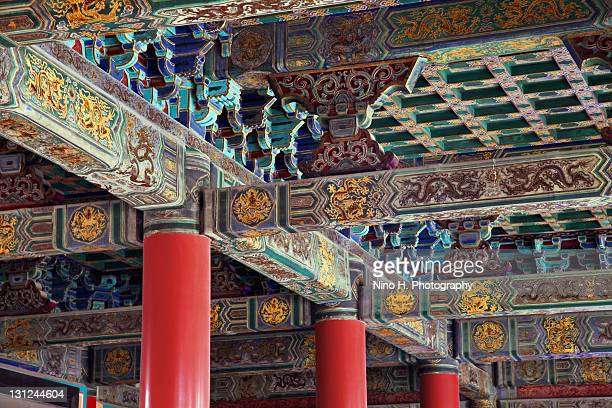 Ceiling in forbidden city