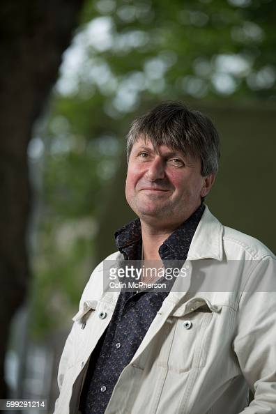 Celebrated English poet Simon Armitage pictured at the Edinburgh International Book Festival where he talked about his new collection of poems...