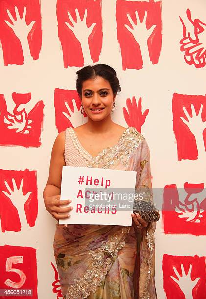 Celebrated Indian actor Kajol supports #HelpAChildReach5 at Fashion 4 Development's 4th Annual First Ladies Luncheon during the 69th session of the...