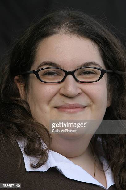 Celebrated young British writer Naomi Alderman pictured at the Edinburgh International Book Festival where she talked about her debut novel entitled...