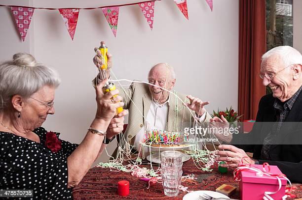Celebrating a messy 93rd birthday
