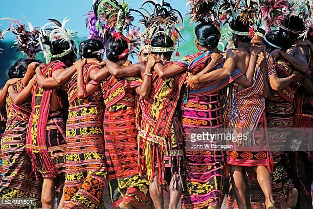 Celebrating Independence Day. East Timor