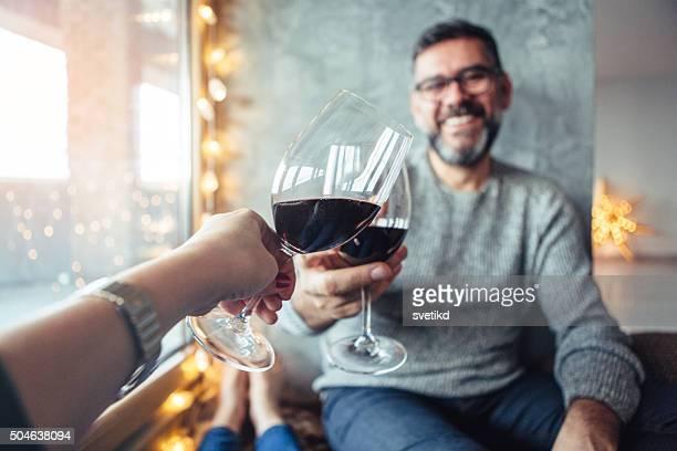 Celebrating their love