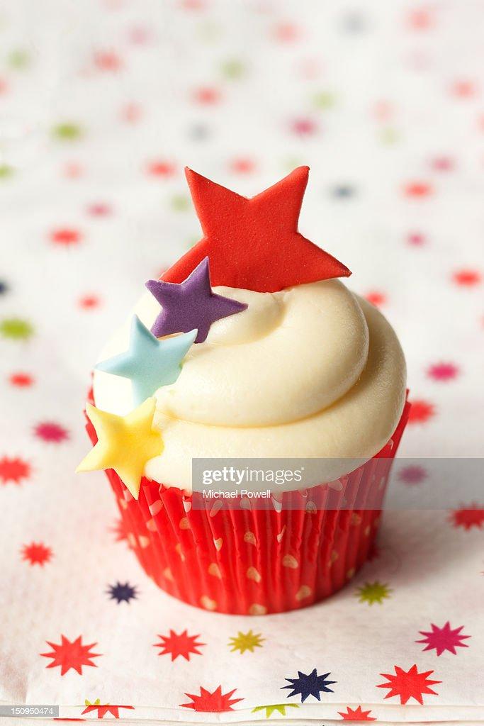 Celebration cupcake : Stock Photo