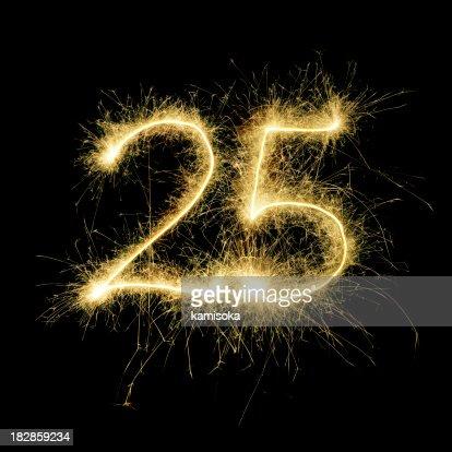 Resplandeciente celebración de veinticinco