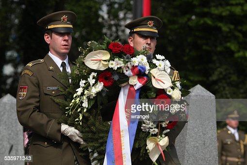Celebration of Victory Day in Prague, Czech Republic : Stock Photo