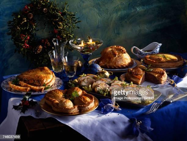 Celebration table setting