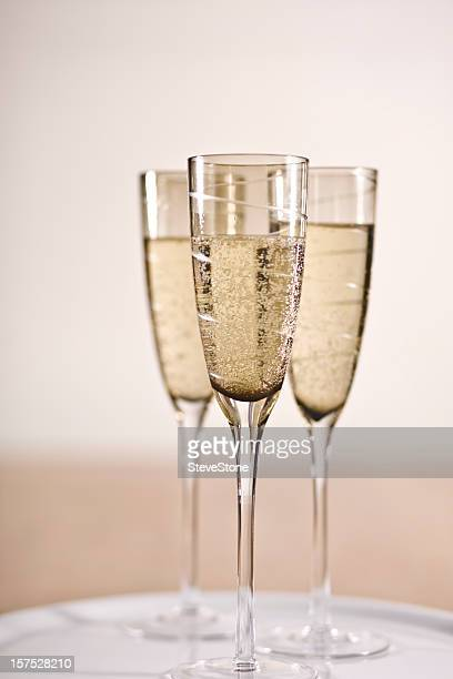 Celebrations champagne parties New Year success