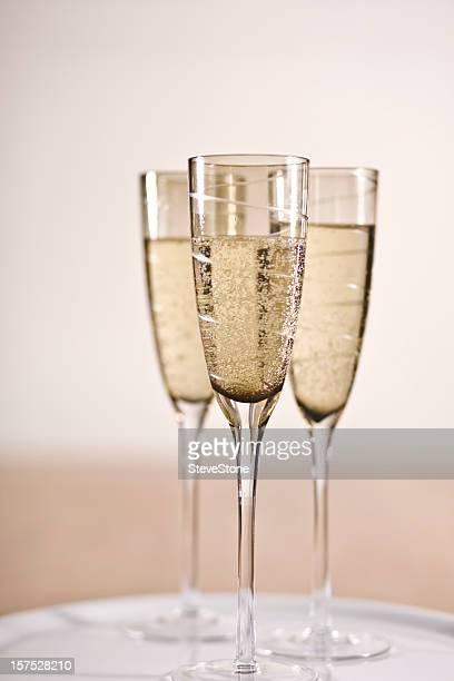 Celebrazioni champagne parti nuovo anno, il successo