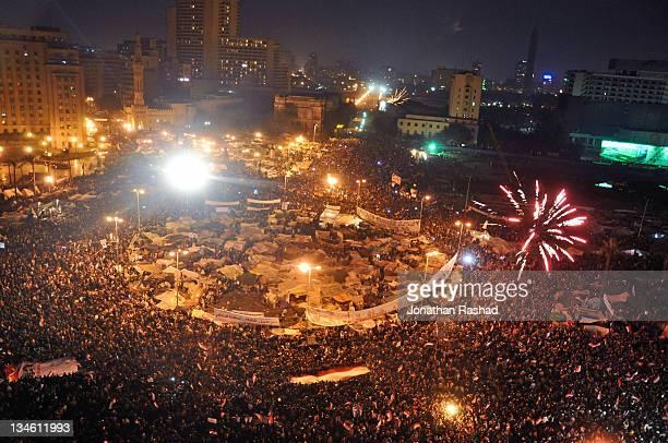 Celebrations in Tahrir Square - February 11, 2011
