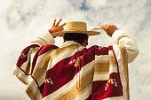 Huaso dancing cueca.