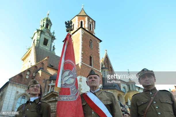 Celebrations of the 103rd Anniversary of the First Company establishment on August 35 in Krakow by Jozef Pilsudski The First Company marched on 6...
