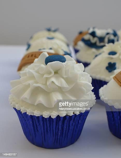 Celebratory cupcake