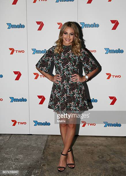 Celebrities and contestants mingled at the MKR launch party on January 27 2016 in Brisbane Australia