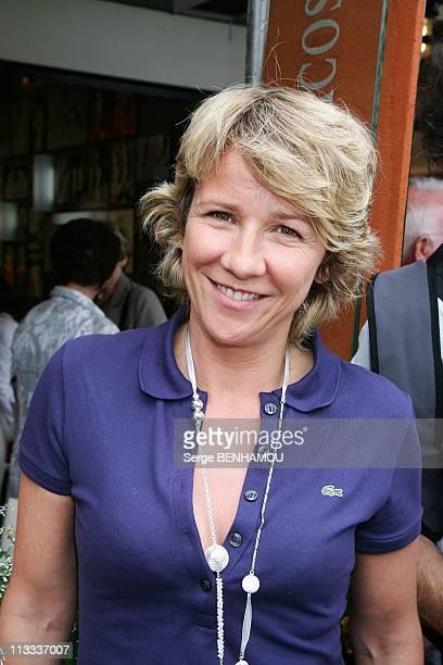 Celebrities At 2008 Roland Garros Tournament In Paris France On May 31 2008 Ariane Massenet