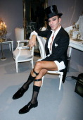 Celebrities At Dior Ready To Wear SpringSummer 2008 Fashion Show In Paris France On October 01 2007 John Galliano