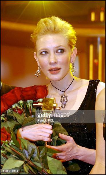 Celebrities At The Gold Camera 2002 Awards In Berlin Germany On February 05 2002Cate Blanchandt