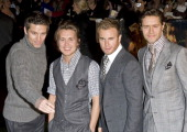 Celebrities At The Stardust Film Premiere In Leicester Square London Take That