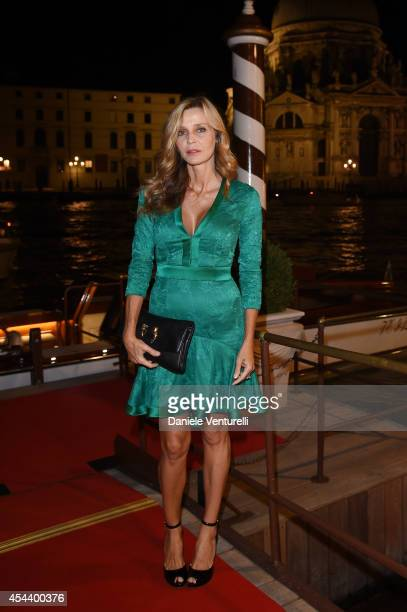 Celebrities from around the world including Eliana Miglio gathered at the glamourous Vanity Fair Party during Venice Film Festival The starstudded...
