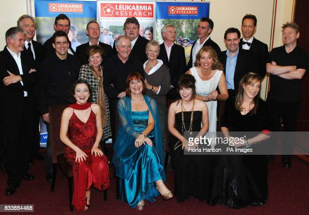 Celebrities gather at the Royal Albert Hall before performing in Patrick Doyle's Music From The Movies directed by Kenneth Branagh in aid of...
