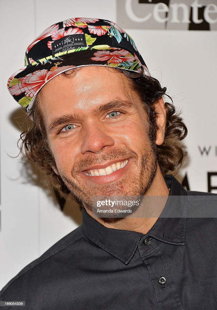 Celebrity blogger Perez Hilton arrives at the L.A. Gay & Lesbian Center's 2013 'An Evening With Women' Gala at The Beverly Hilton Hotel on May 18, 2013 in Beverly Hills, California.