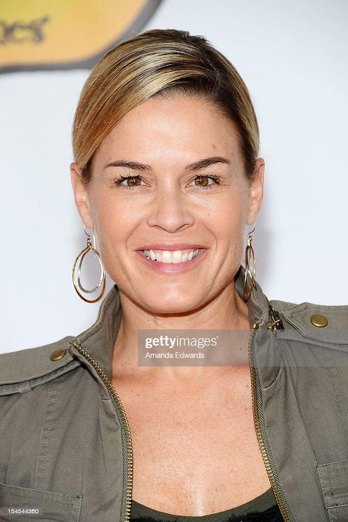 Celebrity chef Cat Cora arrives at the Camp Ronald McDonald For Good Times 20th Annual Halloween Carnival at Universal Studios Backlot on October 21, 2012 in Universal City, California.