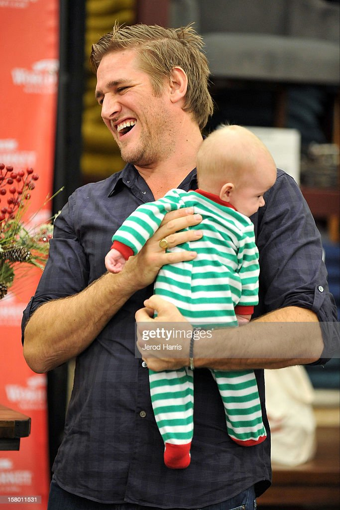 Celebrity Chef Curtis Stone meets fans at Cost Plus World Market's Share the Joy event at Cost Plus World Market on December 8, 2012 in Los Angeles, United States.