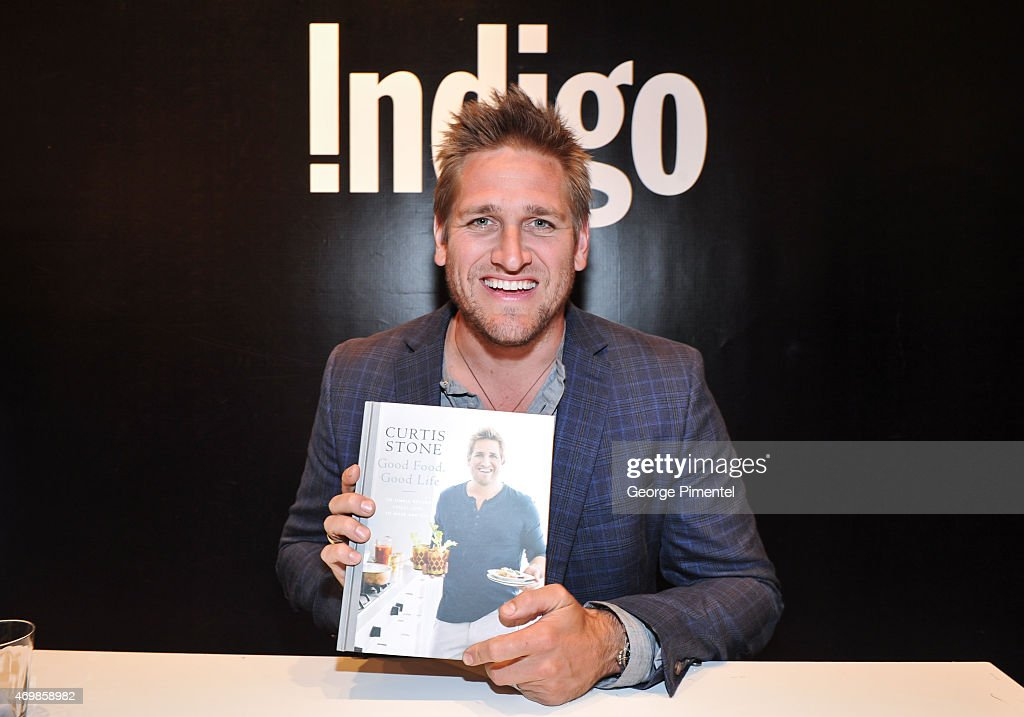 "Celebrity Chef Curtis Stone Signs Copies Of His New Book ""Good Food, Good Life"""