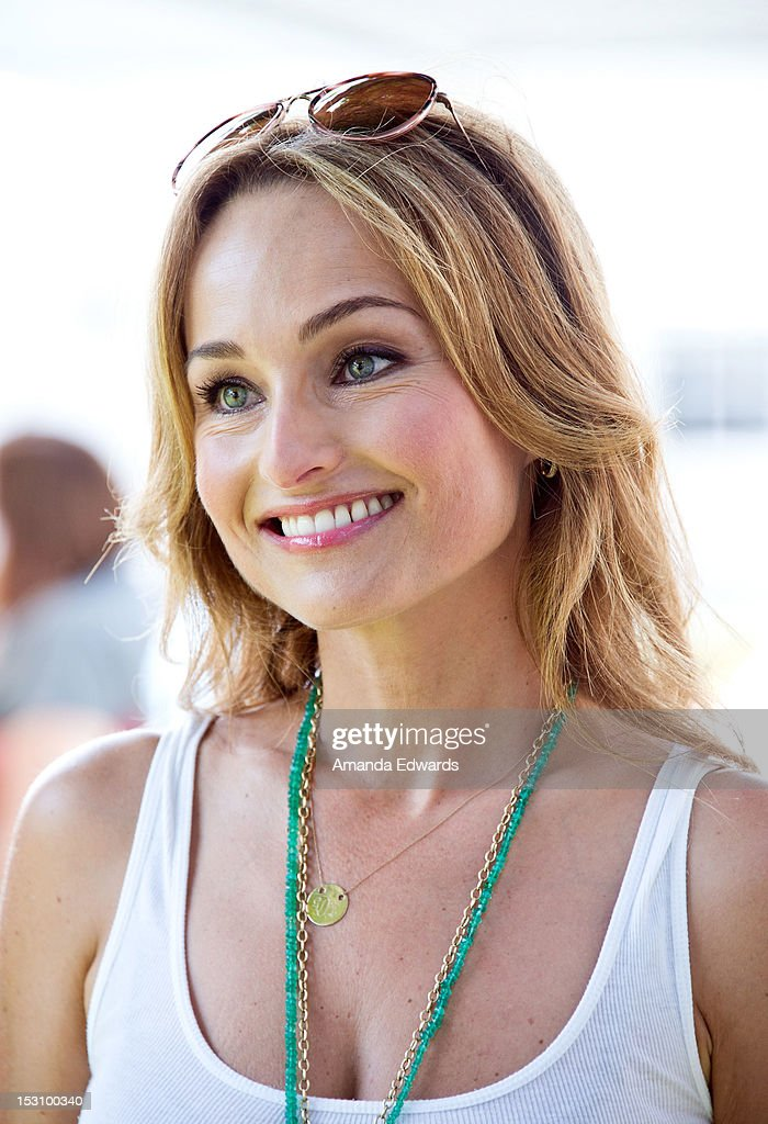 Celebrity chef Giada De Laurentiis arrives at the L.A. Loves Alex's Lemonade Culinary Event at Culver Studios on September 29, 2012 in Culver City, California.