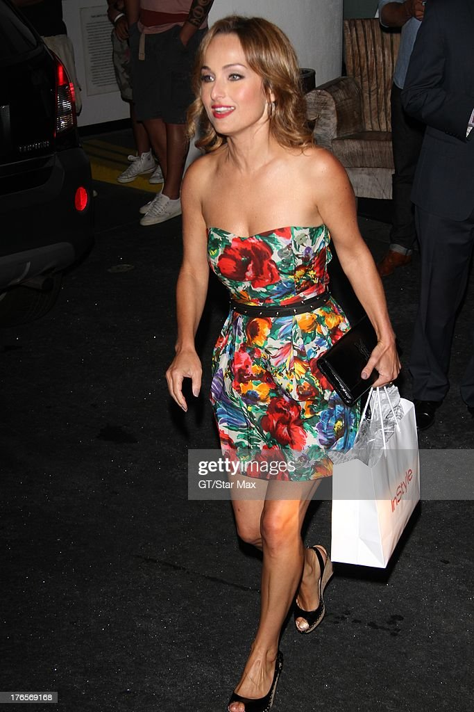 Celebrity chef Giada de Laurentiis as seen on August 14, 2013 in Los Angeles, California.