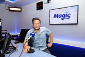 Celebrity Chef Jamie Oliver visits Magic Radio on July 15 2016 in London England