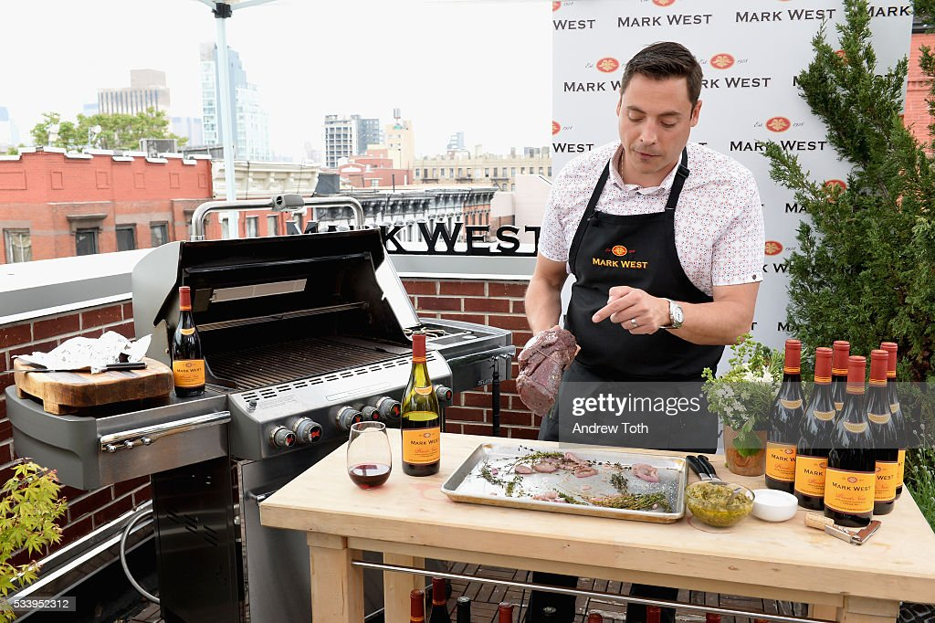 Celebrity Chef <a gi-track='captionPersonalityLinkClicked' href=/galleries/search?phrase=Jeff+Mauro&family=editorial&specificpeople=8050654 ng-click='$event.stopPropagation()'>Jeff Mauro</a> celebrates Father's Day with Mark West Wines on May 24, 2016 in New York City.