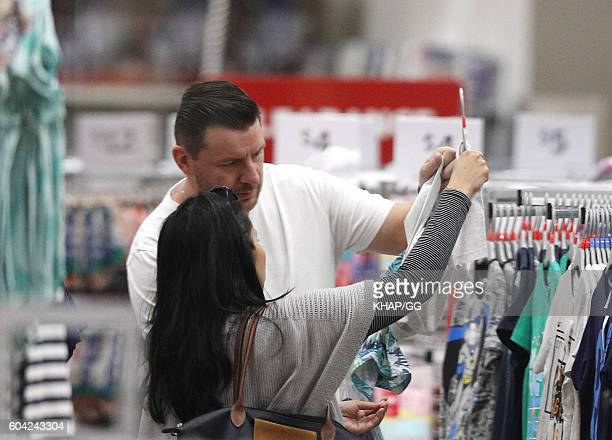 Celebrity Chef Manu Feildel and his partner Clarissa Weerasena are seen on September 12 2016 in Sydney Australia