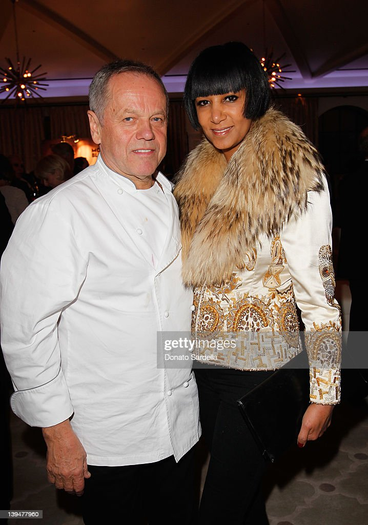 Celebrity chef <a gi-track='captionPersonalityLinkClicked' href=/galleries/search?phrase=Wolfgang+Puck&family=editorial&specificpeople=157523 ng-click='$event.stopPropagation()'>Wolfgang Puck</a> (L) and <a gi-track='captionPersonalityLinkClicked' href=/galleries/search?phrase=Gelila+Assefa&family=editorial&specificpeople=227001 ng-click='$event.stopPropagation()'>Gelila Assefa</a> Puck attend the Vanity Fair Montblanc party celebrating The Collection Princesse Grace de Monaco held at Hotel Bel-Air Los Angeles on February 21, 2012 in Los Angeles, California.