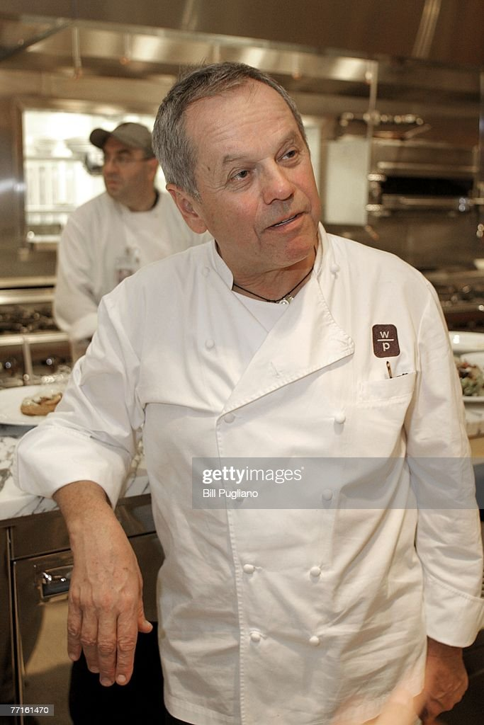Celebrity chef Wolfgang Puck at his restaurant in the new MGM Grand Detroit, an $800 million luxury hotel and casino that opens to the public tonight at midnight October 2, 2007 in Detroit, Michigan. Upon opening, MGM Mirage, the parent company of MGM Grand Detroit will have invested more than $1 billion into the community with the intent of fueling economic growth and helping redevelop downtown Detroit to increase business and leisure travel to the area.