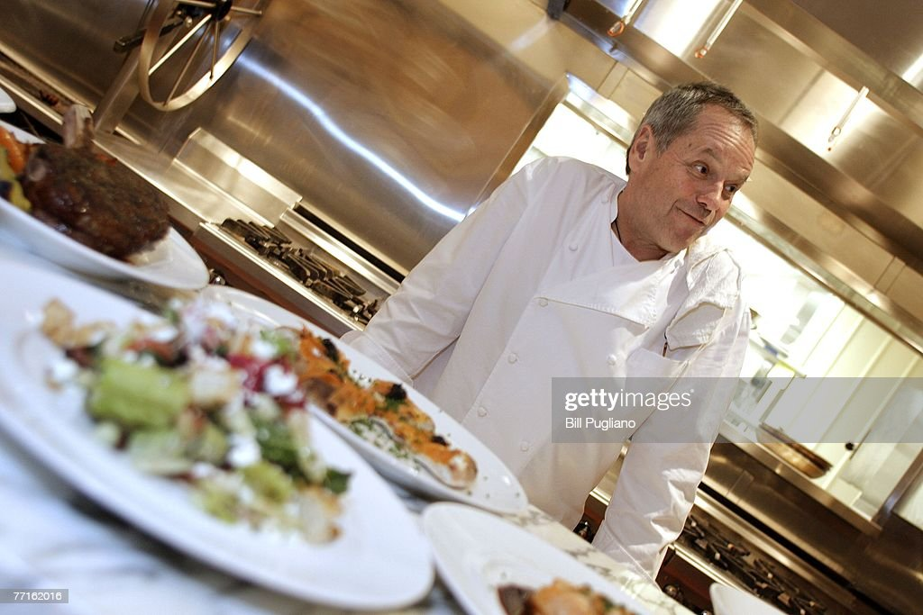 Celebrity chef Wolfgang Puck in the kitchen of his restaurant at the new MGM Grand Detroit, an $800 million luxury hotel and casino that opens to the public tonight at midnight October 2, 2007 in Detroit, Michigan. Upon opening, MGM Mirage, the parent company of the MGM Grand Detroit will have invested more than $1 billion into the community with the intent of fueling economic growth and helping redevelop downtown Detroit to increase business and leisure travel to the area.