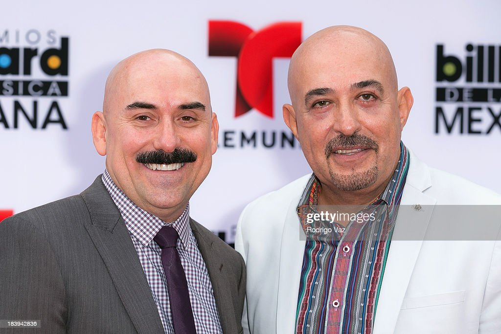 Celebrity chefs Ramiro Arvizu (L) and Jaime Martin del Campo attend the 2013 Billboard Mexican Music Awards arrivals at Dolby Theatre on October 9, 2013 in Hollywood, California.