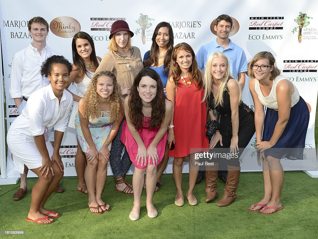 Celebrity embassadors attend the 7th Annual Eco Emmys Empowering Women Pre-Emmys Party on September 21, 2013 in Los Angeles, California.