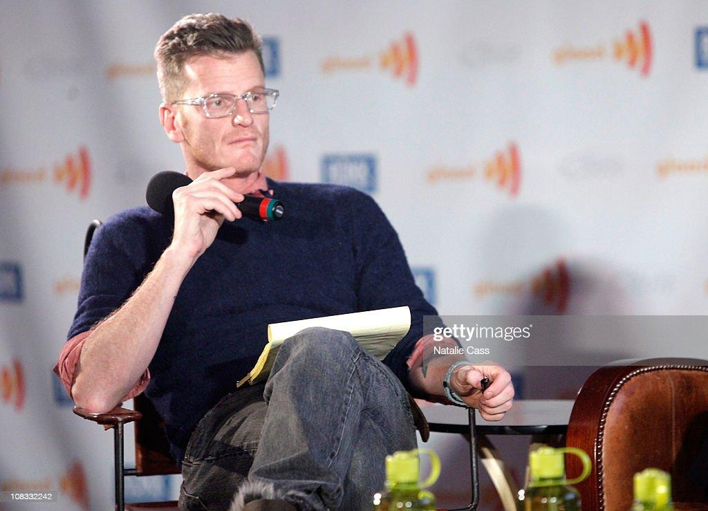 Celebrity gossip columnist Marc Malkin attends the GLAAD Panel at the Filmmaker Lodge during the 2011 Sundance Film Festival on January 25, 2011 in Park City, Utah.