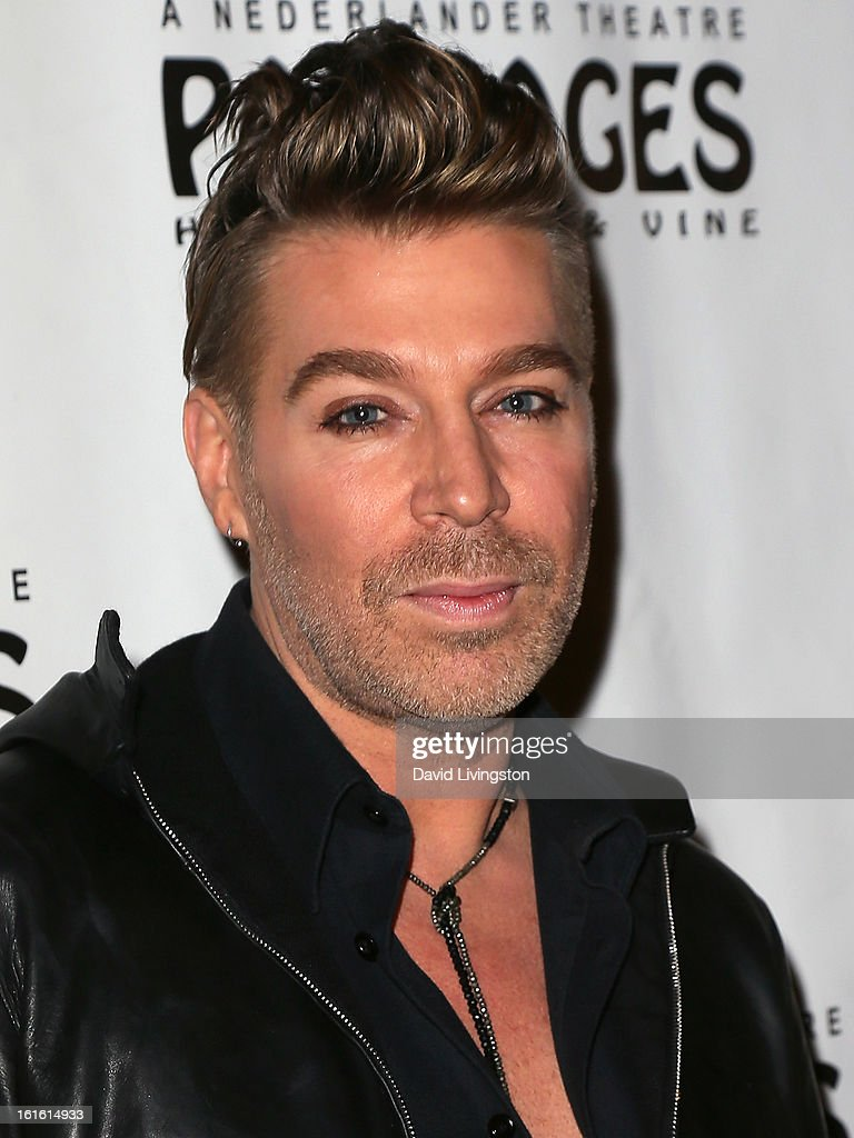 Celebrity hair stylist Chaz Dean attends the opening night of 'Jekyll & Hyde' at the Pantages Theatre on February 12, 2013 in Hollywood, California.